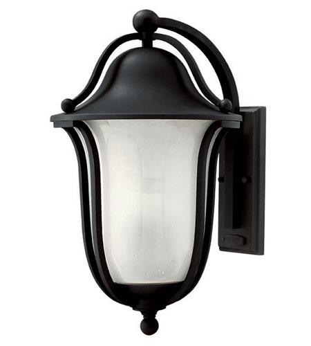 Hinkley Lighting Bolla 1 Light Outdoor Wall Lantern in Black 2635BK-ES