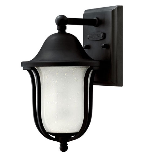 Hinkley Lighting Bolla 1 Light Outdoor Wall Lantern in Black 2636BK