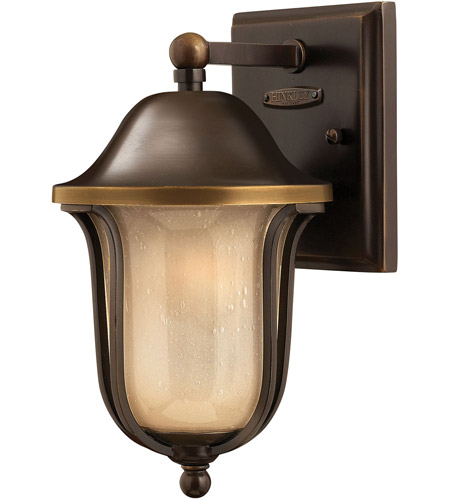 Hinkley 2636OB Bolla 1 Light 11 inch Olde Bronze Outdoor Wall Lantern in Incandescent photo