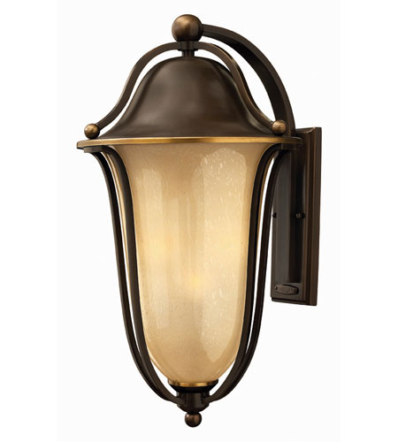 Hinkley Lighting Bolla 2 Light Outdoor Wall Lantern in Olde Bronze 2639OB-EST