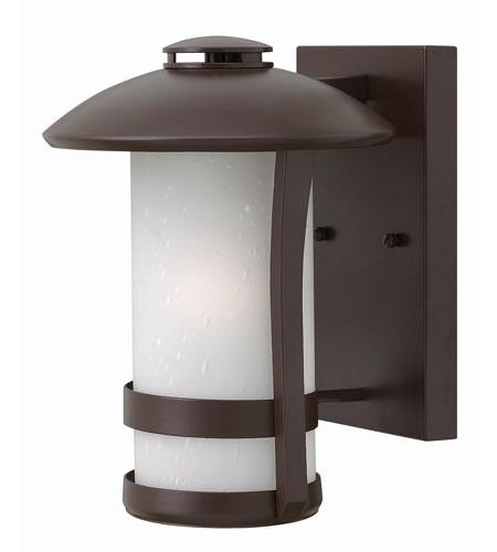 Hinkley Lighting Chandler 1 Light Outdoor Wall in Anchor Bronze 2700AR-GU24