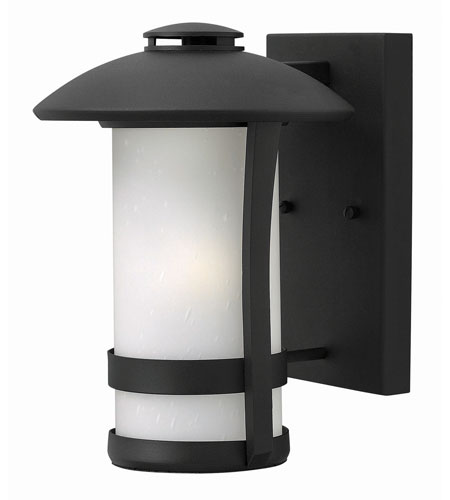 Hinkley Lighting Chandler 1 Light Outdoor Wall in Black 2700BK-GU24