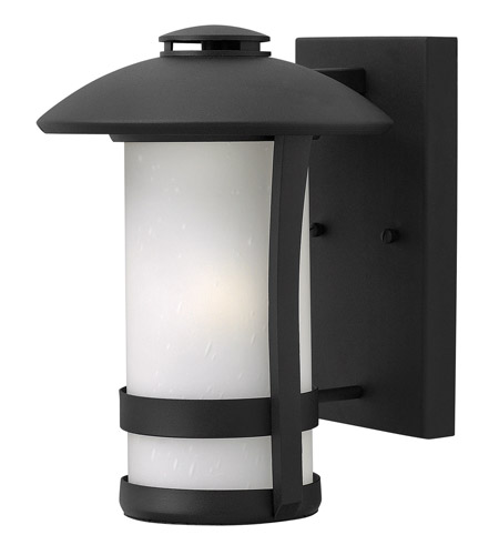 Hinkley Lighting Chandler 1 Light Outdoor Wall in Black 2700BK