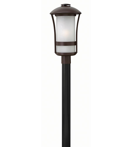 Hinkley Lighting Chandler 1 Light Post Mount in Anchor Bronze 2701AR-GU24