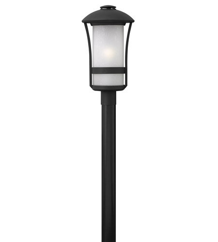 Hinkley Lighting Chandler 1 Light Post Mount in Black 2701BK