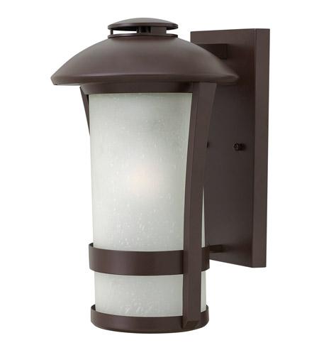 Hinkley Lighting Chandler 1 Light Outdoor Wall in Anchor Bronze 2704AR