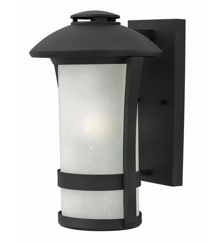 Hinkley 2704BK-GU24 Chandler 1 Light 15 inch Black Outdoor Wall in GU24 photo