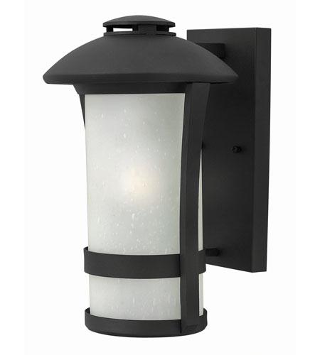 Hinkley Lighting Chandler 1 Light Outdoor Wall in Black 2704BK-GU24
