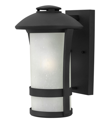 Hinkley Lighting Chandler 1 Light Outdoor Wall in Black 2704BK