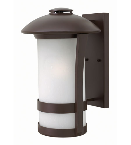 Hinkley Lighting Chandler 1 Light Outdoor Wall in Anchor Bronze 2705AR-GU24