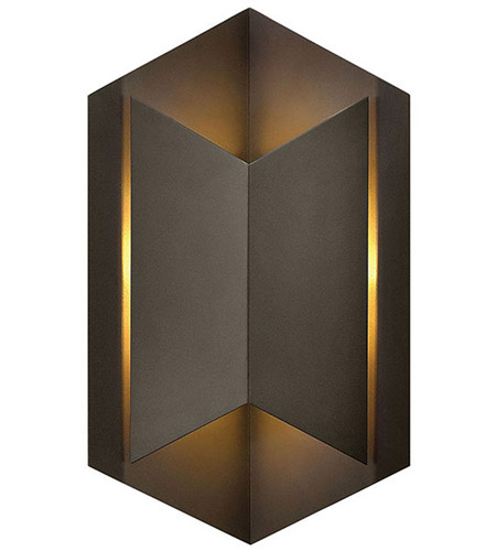 Hinkley 2714BZ Lex LED 15 inch Bronze Outdoor Wall photo