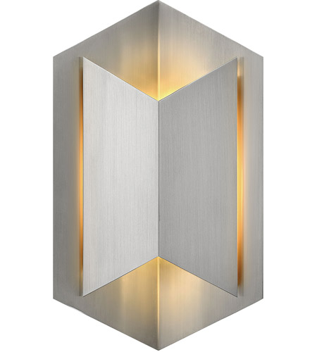 Hinkley Lighting Lex 1 Light Outdoor Wall in Stainless Steel 2714SS