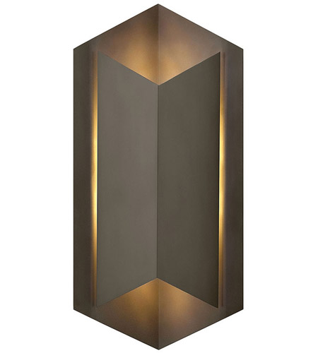 Hinkley Lighting Lex 1 Light Outdoor Wall in Bronze 2715BZ