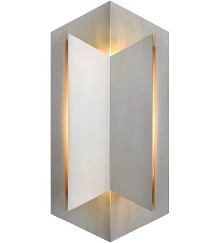 Hinkley Lighting Lex 1 Light Outdoor Wall in Stainless Steel 2715SS