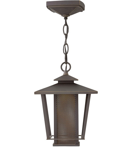 Hinkley 2742OZ Theo LED 8 inch Oil Rubbed Bronze Outdoor Hanging Light photo