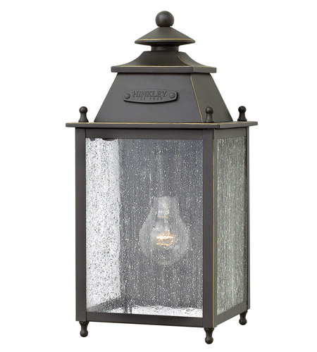 Hinkley Lighting Chatfield 1 Light Outdoor Wall in Oil Rubbed Bronze 2780OZ photo