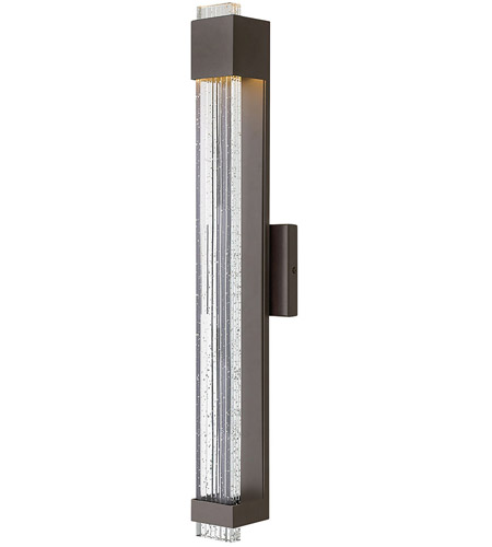 Hinkley 2835BZ Glacier LED 28 inch Bronze Outdoor Wall Lantern, Large photo