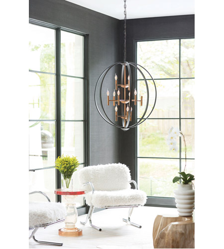 Hinkley 3469SB Euclid 12 Light 36 inch Spanish Bronze Foyer Light Ceiling Light alternative photo thumbnail