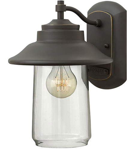 Hinkley Lighting Belden Place 1 Light Outdoor Wall in Oil Rubbed Bronze 2860OZ