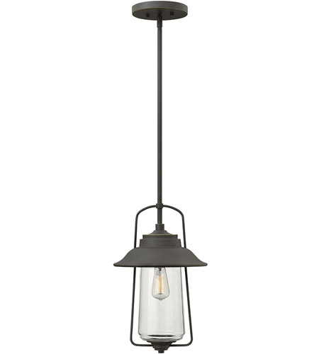 Hinkley Lighting Belden Place 1 Light Outdoor Hanging Lantern in Oil Rubbed Bronze 2862OZ