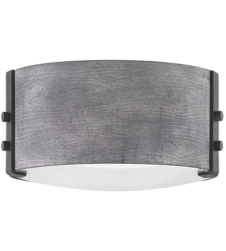 Aged Zinc Sawyer Outdoor Ceiling Lights