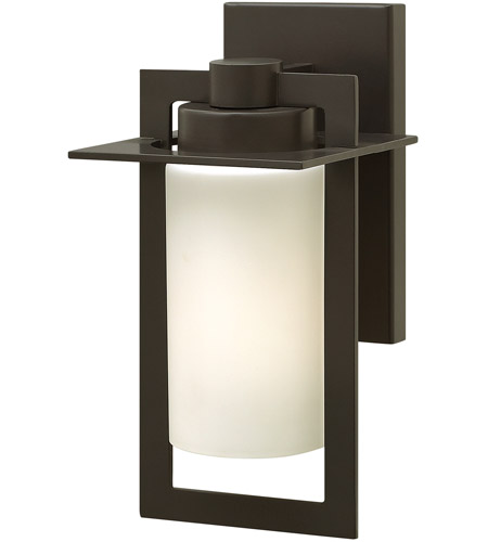 Hinkley 2920BZ-LED Colfax LED 12 inch Bronze Outdoor Wall Mount, Etched Opal Glass photo