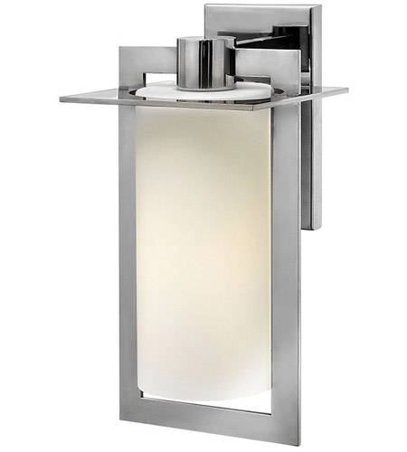 Hinkley Lighting Colfax 1 Light Outdoor Wall in Polished Stainless Steel 2924PS