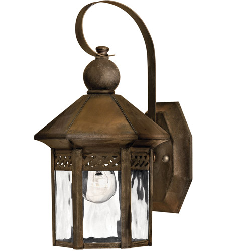 Hinkley 2989SN Westwinds 1 Light 12 inch Sienna Outdoor Wall Lantern photo