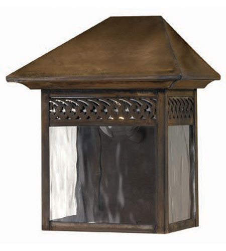 Hinkley Lighting Westwinds 1 Light Outdoor Wall Lantern in Sienna 2993SN photo