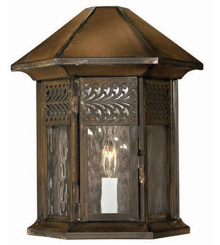 Hinkley Lighting Westwinds 1 Light Outdoor Wall Lantern in Sienna 2994SN photo
