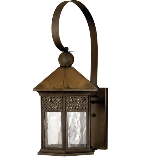 Hinkley Lighting Westwinds 3 Light Outdoor Wall Lantern in Sienna 2995SN