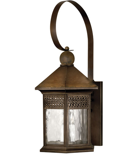 Hinkley Lighting Westwinds 3 Light Outdoor Wall Lantern in Sienna 2996SN