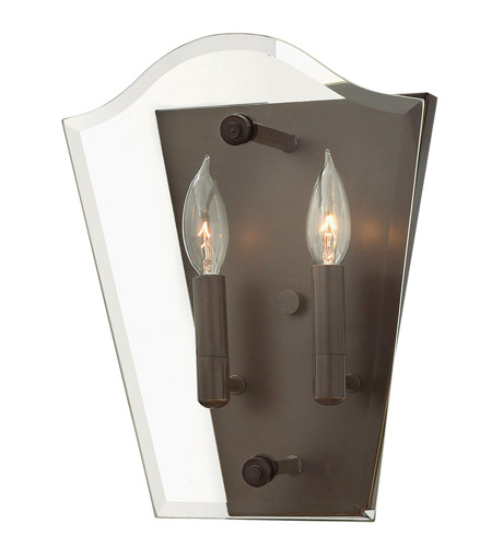 Hinkley Lighting Wingate 2 Light Sconce in Oil Rubbed Bronze 3002OZ