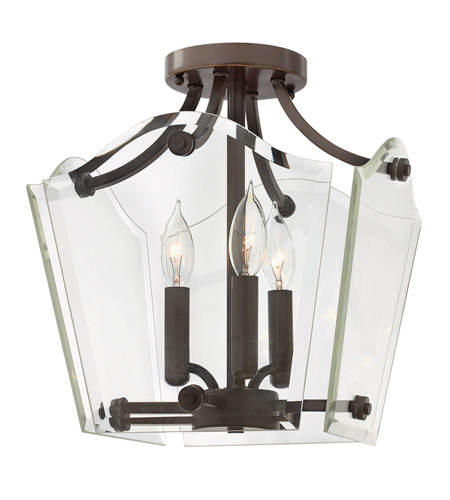 Hinkley Lighting Wingate 3 Light Foyer Pendant in Oil Rubbed Bronze 3003OZ