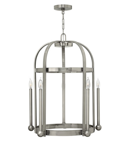 Hinkley Lighting Landon 5 Light Foyer in Brushed Nickel 3015BN