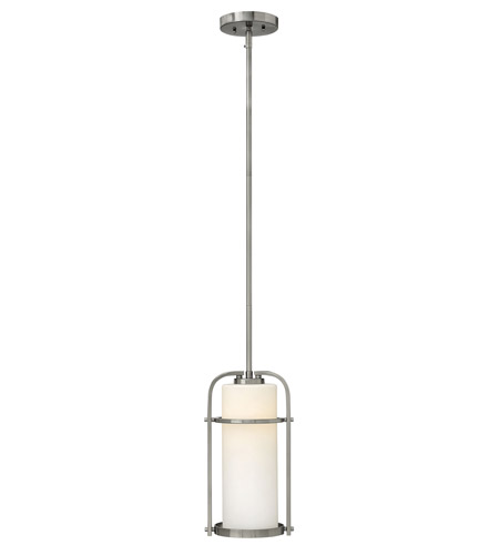 Hinkley 3017BN Landon 1 Light 8 inch Brushed Nickel Mini-Pendant Ceiling Light photo