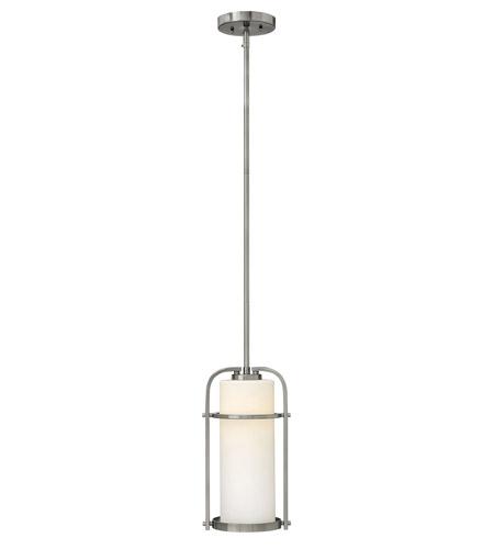Hinkley Lighting Landon 1 Light Mini-Pendant in Brushed Nickel 3017BN