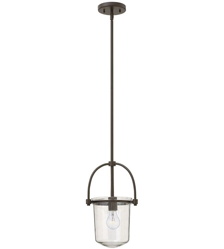 Hinkley Lighting Clancy 1 Light Foyer in Buckeye Bronze 3031KZ