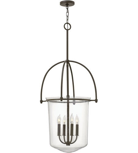 Hinkley Lighting Clancy 4 Light Foyer in Buckeye Bronze 3034KZ photo