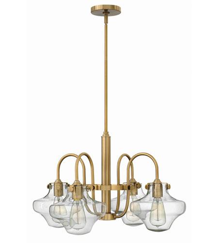 Hinkley Lighting Congress 4 Light Chandelier in Brushed Caramel 3041BC