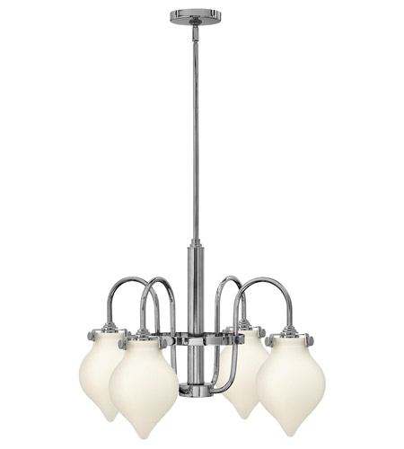 Hinkley Lighting Congress 4 Light Chandelier in Chrome 3042CM