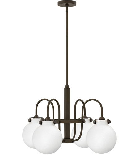Hinkley Lighting Congress 4 Light Chandelier in Oil Rubbed Bronze 3043OZ photo