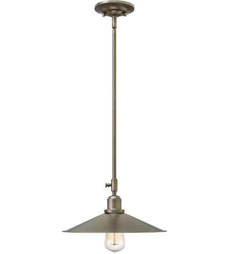 Hinkley Lighting Elliot 1 Light Mini-Pendant in Antique Nickel 3054AN