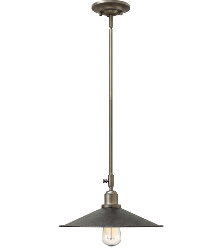 Hinkley 3054GS Elliot 1 Light 13 inch Greystone Mini-Pendant Ceiling Light photo