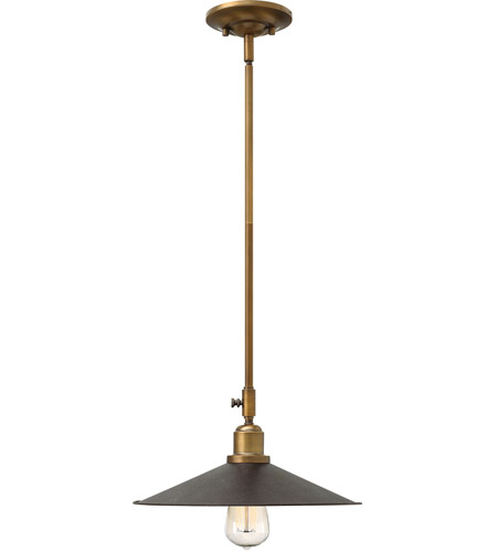 Hinkley 3054RB Elliott 1 Light 13 inch Regency Bronze Mini-Pendant Ceiling Light photo