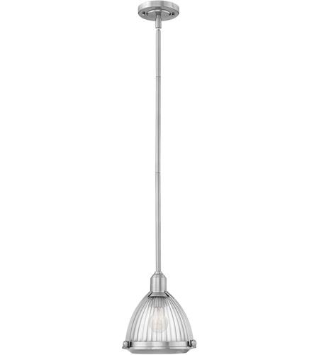 Light 10 Inch Brushed Nickel Pendant