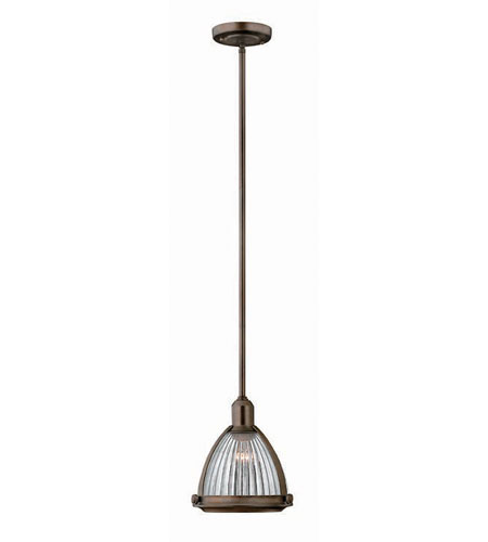 Hinkley Lighting Signature 1 Light Mid-Pendant in Olde Bronze 3100OB