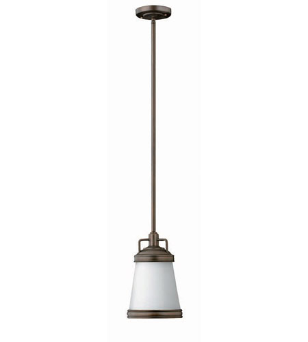 Hinkley Lighting Signature 1 Light Mid-Pendant in Olde Bronze 3101OB photo