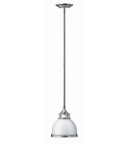 Hinkley Lighting Signature 1 Light Mid-Pendant in Brushed Nickel 3102BN