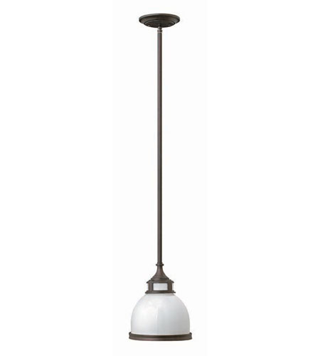 Hinkley Lighting Signature 1 Light Mid-Pendant in Olde Bronze 3102OB photo